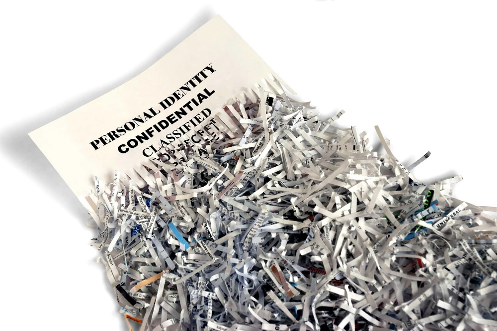 Be Careful Which Files And Mail You Throw Away Or Shred